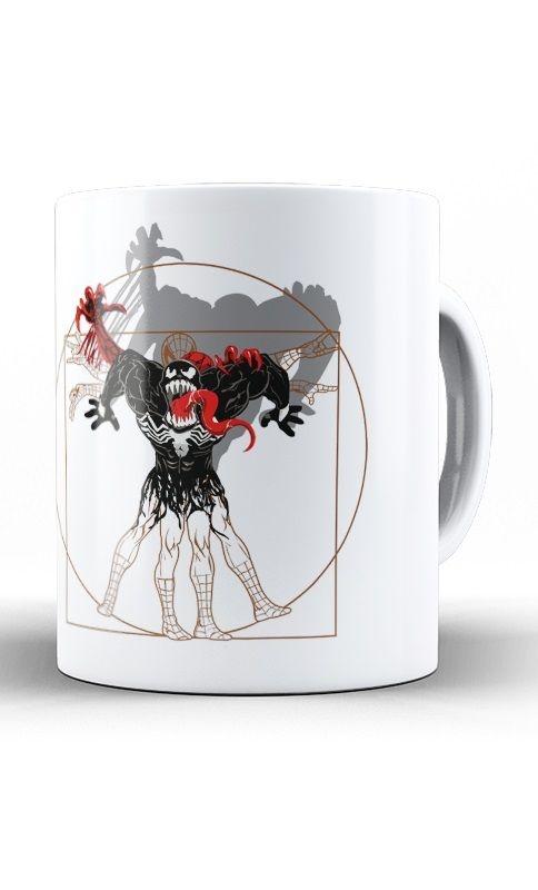 Caneca Vitruvian venom Spiderman