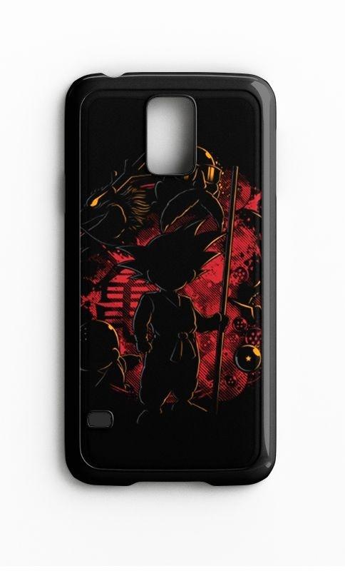 Capa para Celular Dragon Ball Galaxy S4/S5 Iphone S4 - Nerd e Geek - Presentes Criativos
