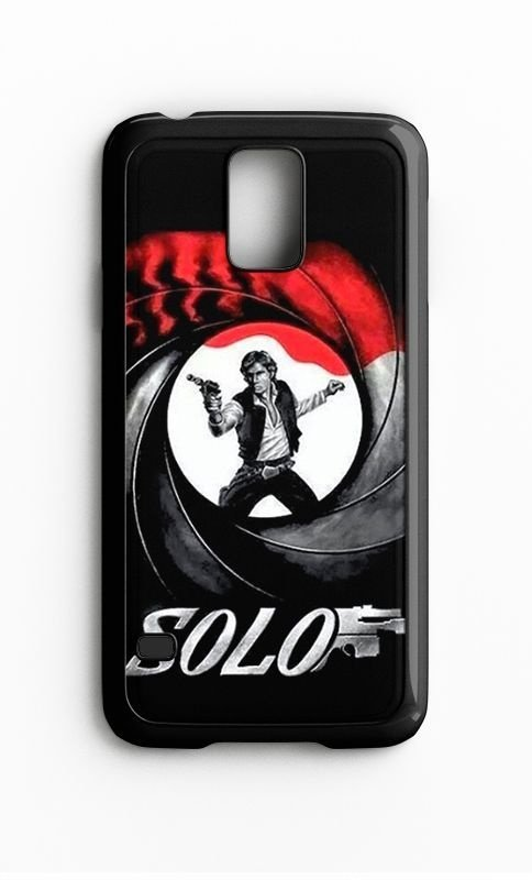 Capa para Celular Solo 007 Galaxy S4/S5 Iphone S4 - Nerd e Geek - Presentes Criativos