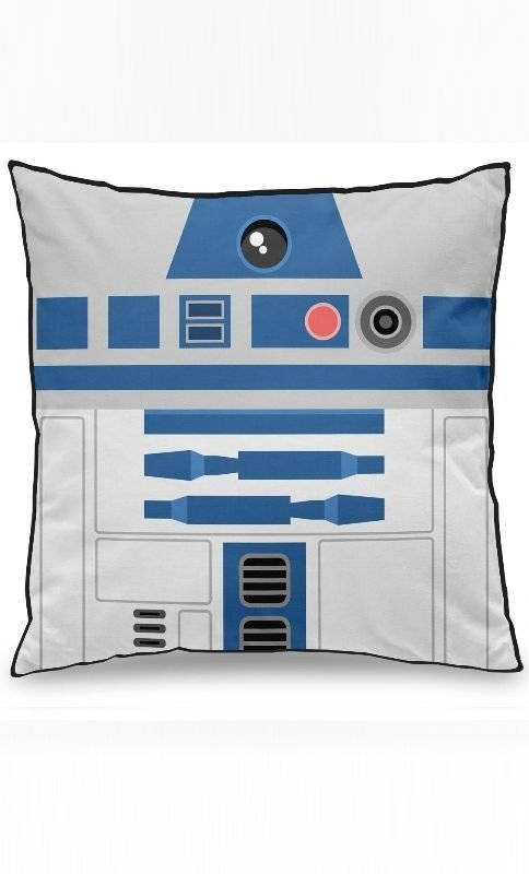 Almofada Star Wars  Geek Side Faces - R2