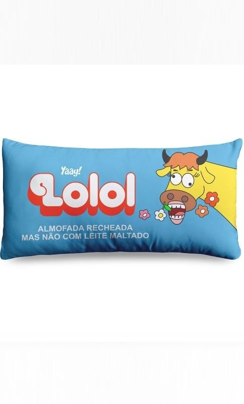 Almofada Retrô Chocolate Lolol Presentes Criativos