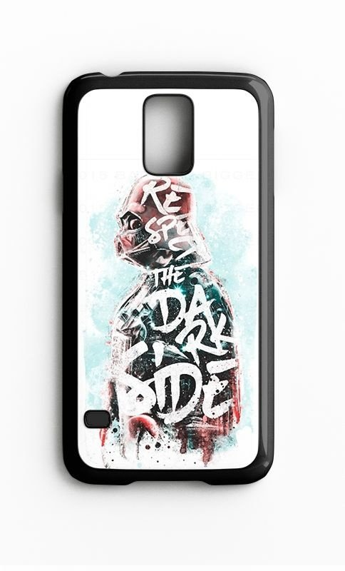 Capa para Celular Star Wars Respect The Dark Side Galaxy S4/S5 Iphone S4