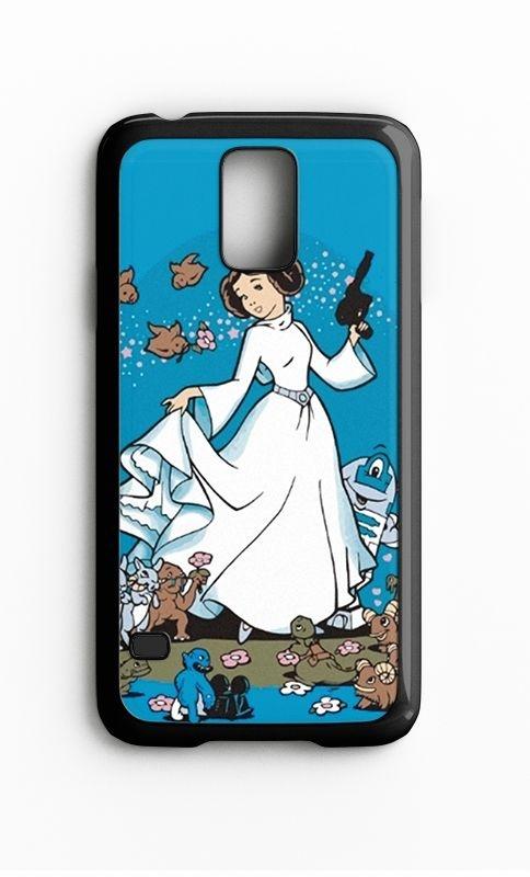 Capa para Celular Princesa Leia Galaxy S4/S5 Iphone S4