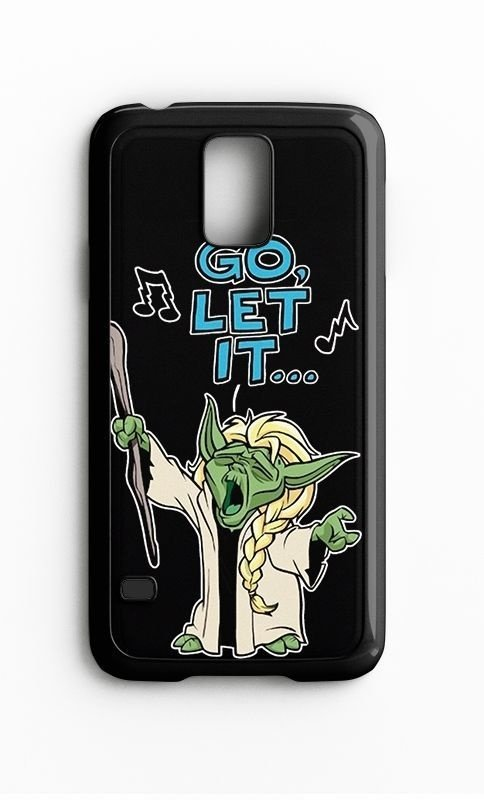 Capa para Celular Go Let It Galaxy S4/S5 Iphone S4