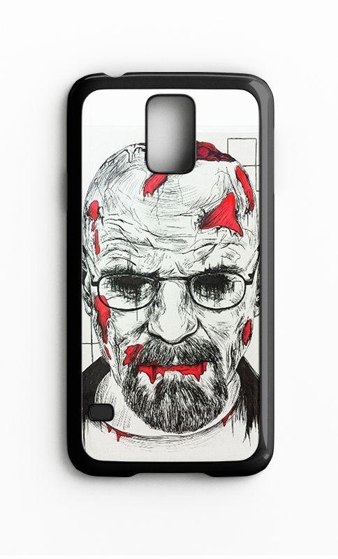Capa para Celular Heisenberg Galaxy S4/S5 Iphone S4 - Nerd e Geek - Presentes Criativos