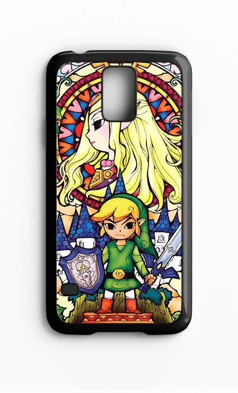 Capa para Celular Zelda Link Galaxy S4/S5 Iphone S4 - Nerd e Geek - Presentes Criativos