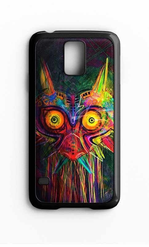 Capa para Celular Majora's Mask Galaxy S4/S5 Iphone S4 - Nerd e Geek - Presentes Criativos