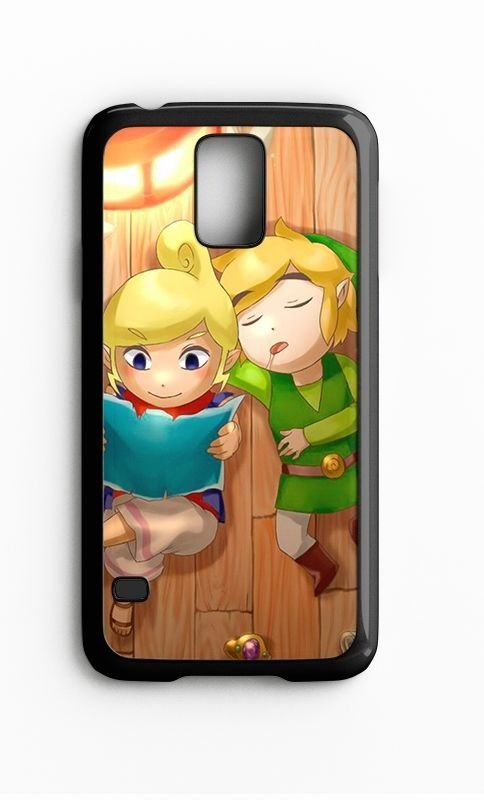 Capa para Celular Link Sleeping Galaxy S4/S5 Iphone S4 - Nerd e Geek - Presentes Criativos