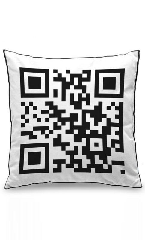 Almofada QR Code Presentes Criativos