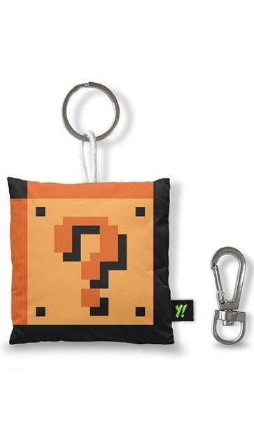 Chaveiro Gamer Bloco Interrogação Presentes Criativos - Nerd e Geek - Presentes Criativos