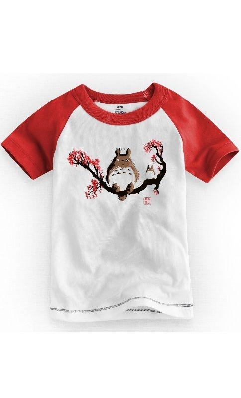 Camiseta Infantil My Neighbor Totoro 1