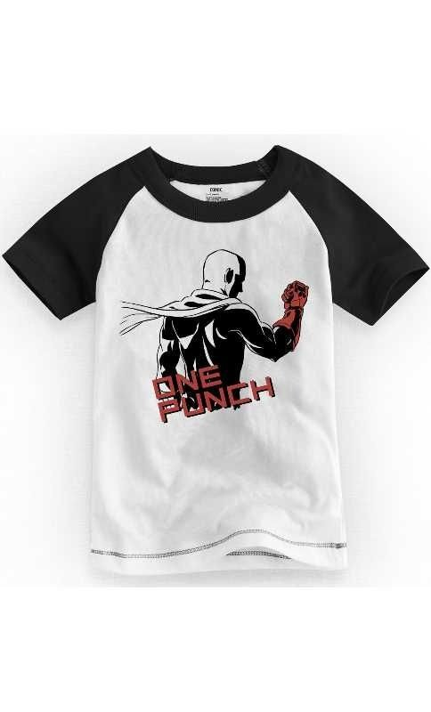 Camiseta Infantil One Punch Man - Nerd e Geek - Presentes Criativos