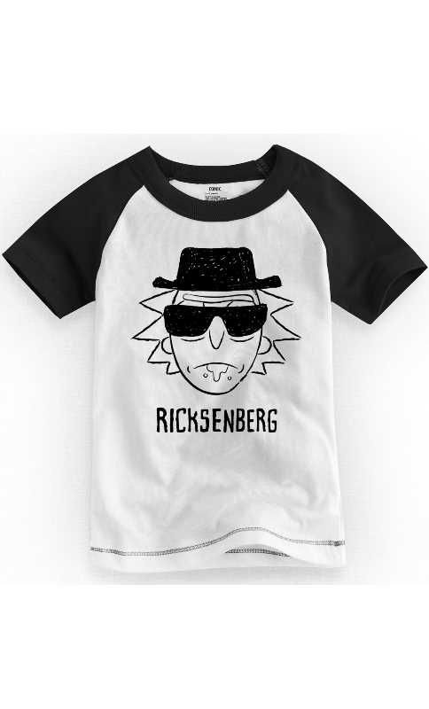 Camiseta Infantil Ricksenberg - Nerd e Geek - Presentes Criativos