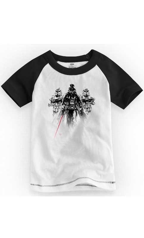 Camiseta Infantil Star Wars Imperial