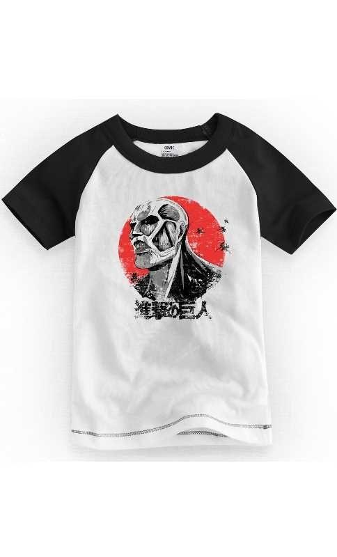Camiseta Infantil Titan - Nerd e Geek - Presentes Criativos