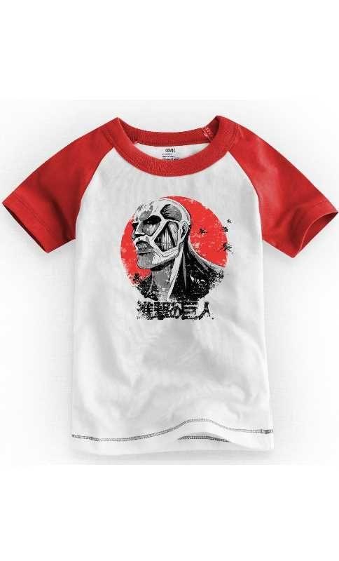 Camiseta Infantil Titan 1