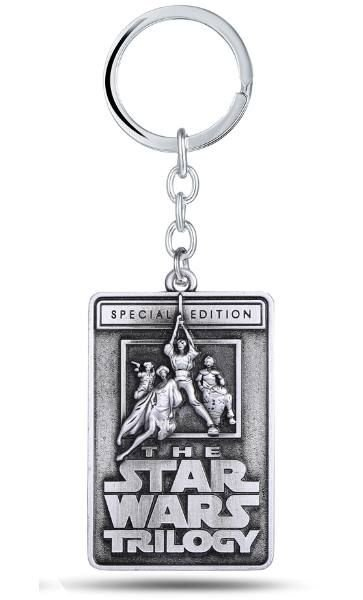 Chaveiro Star Wars Trilogy Special Edition Prata Presentes Criativos