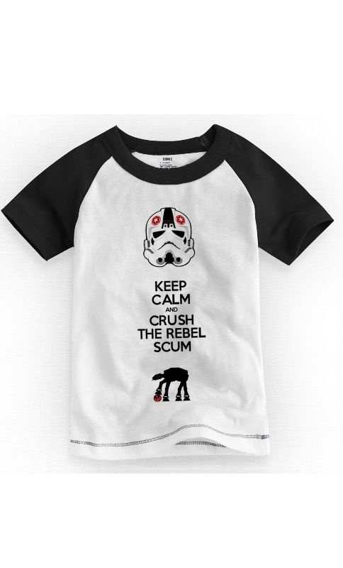 Camiseta Infantil Keep Calm