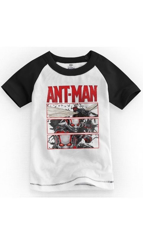 Camiseta Infantil Ant-Men - Nerd e Geek - Presentes Criativos