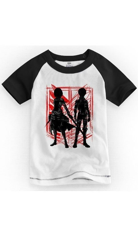 Camiseta Infantil Attack on Titan - Nerd e Geek - Presentes Criativos