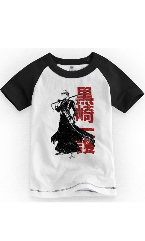 Camiseta Infantil Bleach - Nerd e Geek - Presentes Criativos