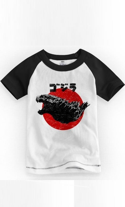 Camiseta Infantil Godzilla