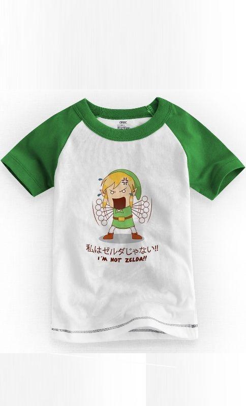 Camiseta Infantil I'm Not Zelda 1 - Nerd e Geek - Presentes Criativos