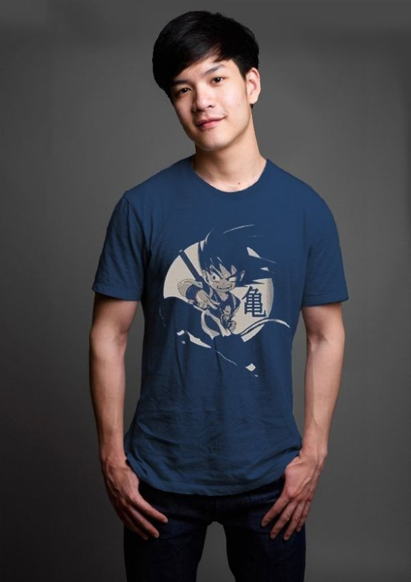 Camiseta Masculina  Dragon Ball Origins - Nerd e Geek - Presentes Criativos