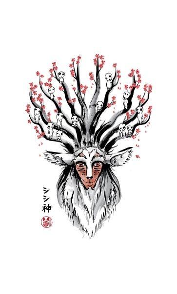 Camiseta Kodama Forest