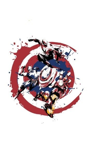 Camiseta Captain America, Iron Man