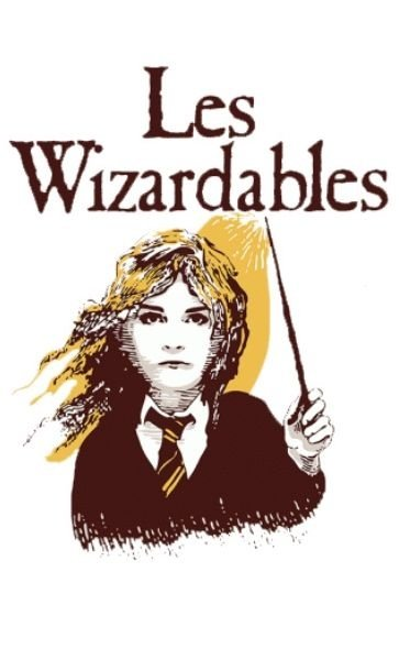 Camiseta Harry Potter Les Wizardables