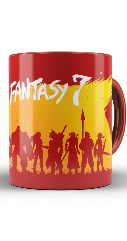 Caneca Final Fantasy 7 - Nerd e Geek - Presentes Criativos