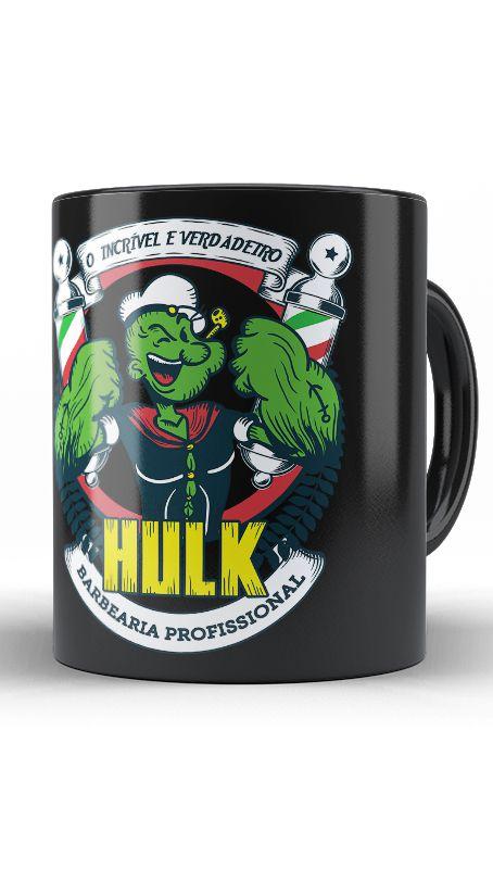 Caneca Popeye Hulk