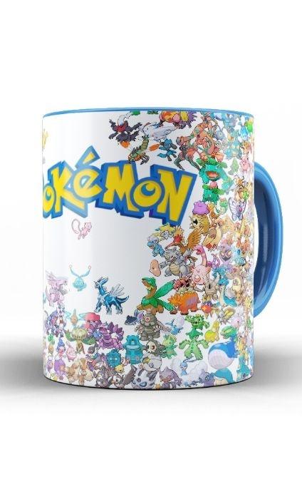 Caneca Anime Pokemon Collection - Nerd e Geek - Presentes Criativos