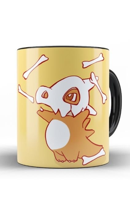 Caneca Anime Pokemon Cubone - Nerd e Geek - Presentes Criativos