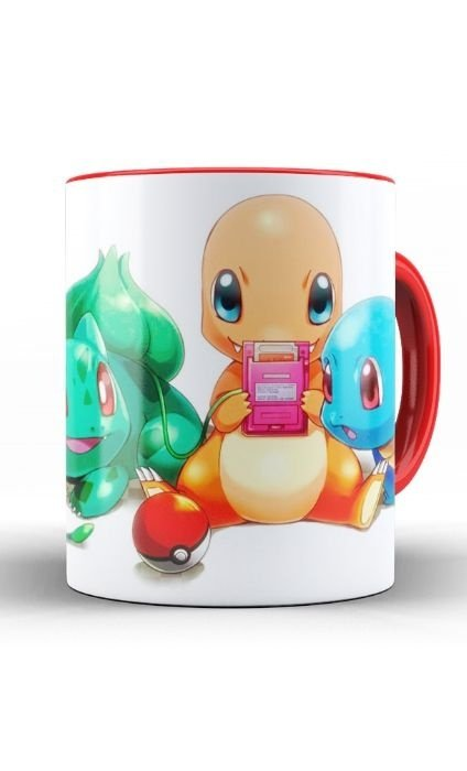 Caneca Anime Pokemon Baby - Nerd e Geek - Presentes Criativos