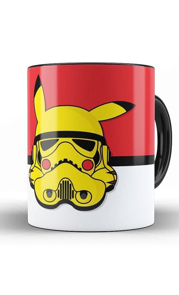 Caneca Star Wars Stormtrooper Pokemon V1