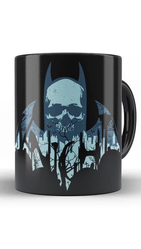 Caneca Skull Morcego