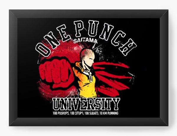 Quadro Decorativo A3 (45x33) Anime One Punch Man