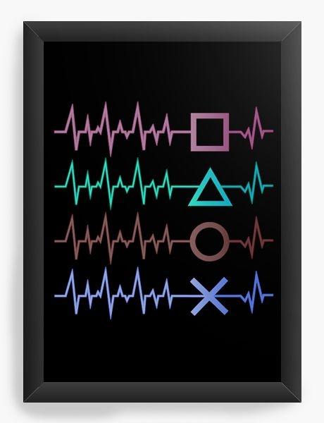 Quadro Decorativo A3 (45x33) PS gamer