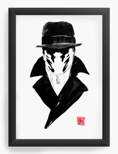 Quadro Decorativo A3 (45x33) Watchmen