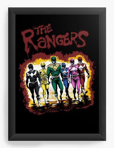 Quadro Decorativo A4 (33X24) The Rangers