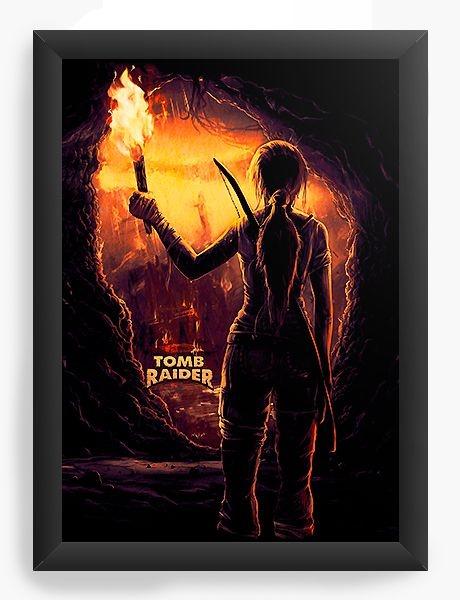 Quadro Decorativo A4 (33X24) Tomb Raider