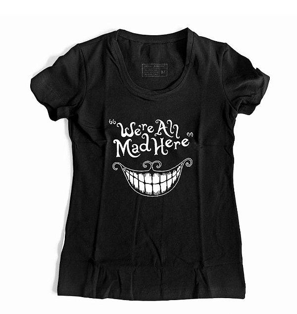 Camiseta Feminina Alice País das Maravilhas