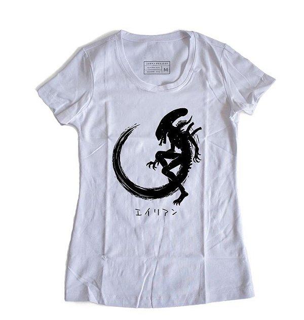 Camiseta Feminina  Alien
