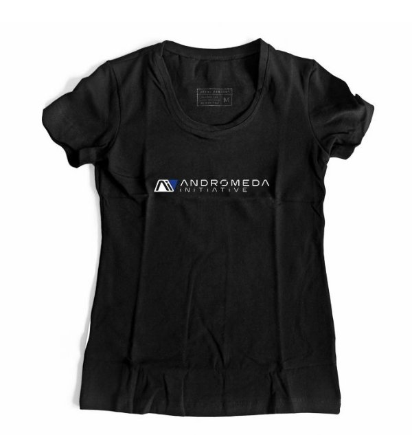 Camiseta Feminina Andromeda Mass Effect