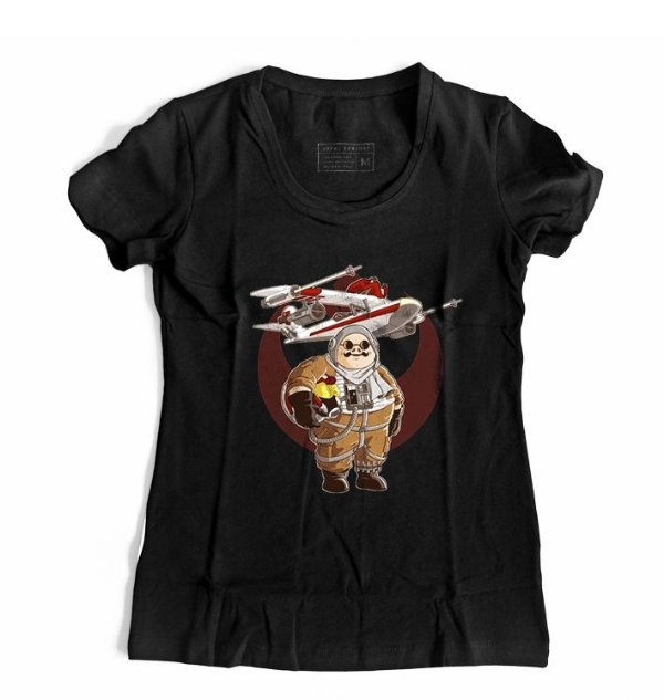 Camiseta Feminina Anime Porco Rosso Pilot