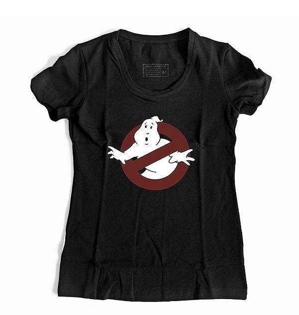 Camiseta Feminina Caça Fantasmas Ghostbusters