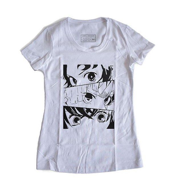Camiseta Feminina Demon Slayer