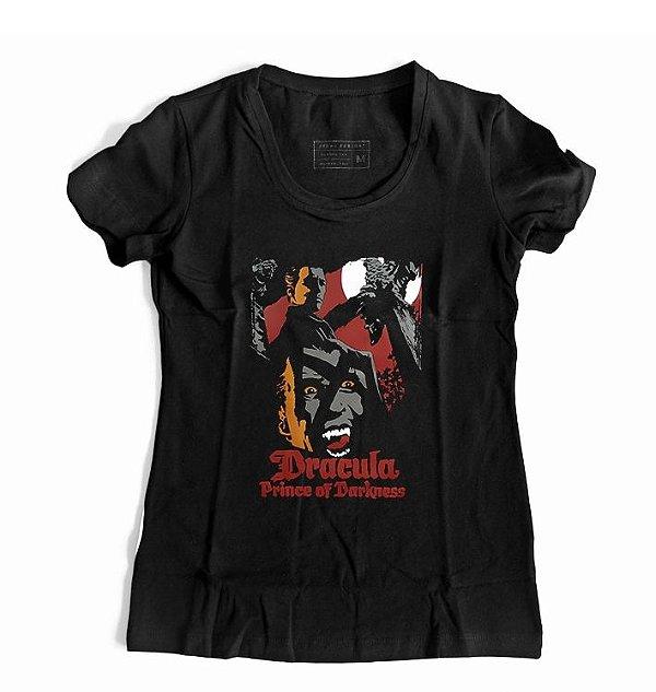 Camiseta Feminina Drácula